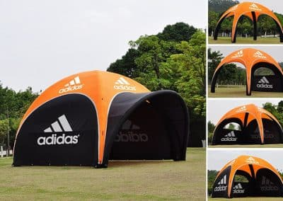 Inflatable Dome tent 3x3m